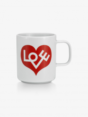 Кружка Vitra Love Heart Crimson